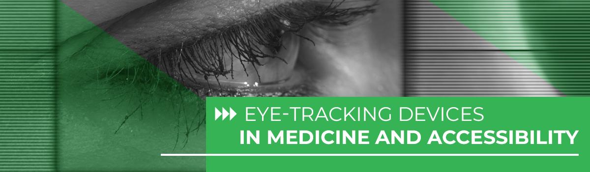 Eye scan of woman's eye.